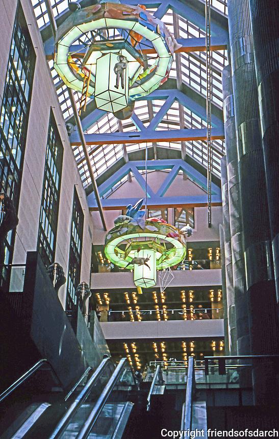 Los Angeles: Bradley Wing, an 8-story atrium space. Photo '96.