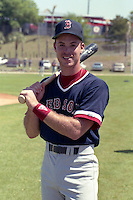 Boston Red Sox David Milstien during spring training circa 1990 at Chain of Lakes Park in Winter Haven, Florida.  (MJA/Four Seam Images)