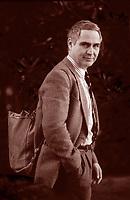 Fulco Pratesi è un ambientalista, giornalista, illustratore, politico italiano, Libri cultura italiana. Fondatore del WWF Italia, di cui è ora presidente onorario.  Milano 6 maggio 1985. Photo by Leonardo Cendamo/Gettyimages