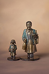 "This limited edition bronze sculpture pair; ""Champagne & Caviar"" were made at La Monnaire de Paris (The Paris Mint)<br /> <br /> Not available at this time."