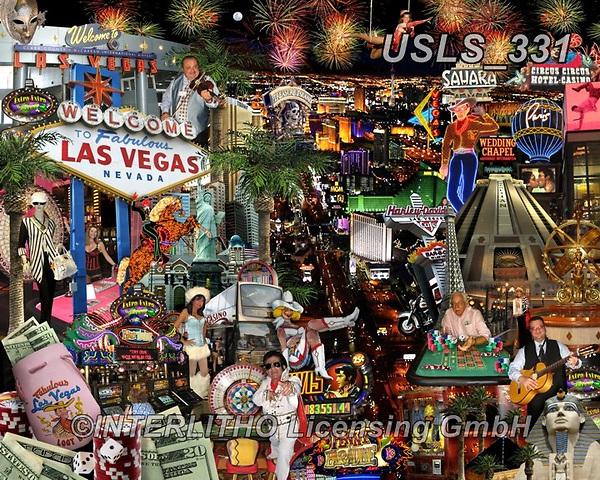 Lori, LANDSCAPES, LANDSCHAFTEN, PAISAJES, paintings+++++Viva Las Vegas _72,USLS331,#l#, EVERYDAY ,puzzle,puzzles
