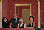 """NICOLETTA ODESCALCHI, LILLIO E MARIA PIA SFORZA RUSPOLI  E MARISELA FEDERICI<br /> PRIMA DE """"LA TRAVIATA"""" TEATRO DELL'OPERA DI ROMA 2009"""