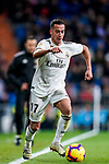 Lucas Vazquez of Real Madrid in action during the La Liga 2018-19 match between Real Madrid and Rayo Vallencano at Estadio Santiago Bernabeu on December 15 2018 in Madrid, Spain. Photo by Diego Souto / Power Sport Images
