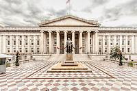 US Treasury Department Washington DC Architecture Washington DC Art - - Framed Prints - Wall Murals - Metal Prints - Aluminum Prints - Canvas Prints - Fine Art Prints Washington DC Landmarks Monuments Architecture
