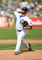 Justin Berg - Chicago Cubs - 2009 spring training.Photo by:  Bill Mitchell/Four Seam Images
