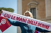 11.03.2021 - What's the Future of Casa Internazionale delle Donne? Women Houses' Demo At Campidoglio