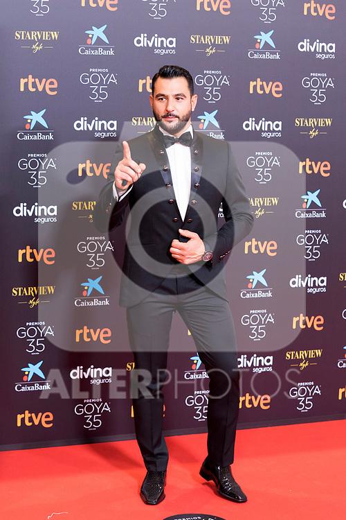 Antonio Velasco attends the red carpet previous to Goya Awards 2021 Gala in Malaga . March 06, 2021. (Alterphotos/Francis González)
