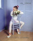 Interlitho, Alberto, CHILDREN, photos, ballerina, blue chair(KL15656,#K#) Kinder, niños