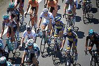 stage protagonists Mark Cavendish (GBR) & Marcel Kittel (DEU) cosy in the peloton<br /> <br /> stage 10: Saint-Gildas-des-Bois to Saint-Malo<br /> 197km