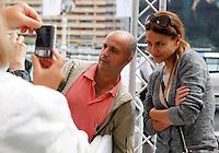 Monica Hoyos arrives to Maria Cristina Hotel to attend the 61 San Sebastian Film Festival, in San Sebastian, Spain. September 20, 2013. (ALTERPHOTOS/Victor Blanco) /NortePhoto