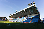 The East Stand at Rugby Park. Kilmarnock 2 Ayr United 0, Scottish Championship, August 2nd 2021. Following Kilmarnock's relegation in 2020-21, the first game of the new season is the Ayreshire Derby, the first league match between the teams in 28 years. Due to relaxation of Covid restrictions the match was played in front of a crowd of 3200 Kilmarnock fans. The game was shown live on BBC Scotland.