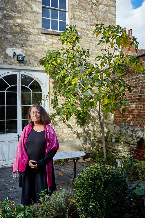 Photograph copyright 2020 - John Angerson. <br /> 201008 - Professor Sunetra Gupta is an Indian infectious disease epidemiologist and a professor of theoretical epidemiology at the University of Oxford. She has performed research on the transmission dynamics of various infectious diseases, including malaria, influenza and COVID-19.