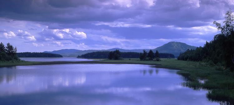 Europe, SWE, Sweden, Darlana, Mora, Siljan Lake, Clouds