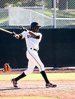 Eugenio Velez / San Francisco Giants 2008 Instructional League..Photo by:  Bill Mitchell/Four Seam Images