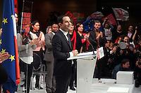 investiture de BenoÓt Hamon a la presidentielle du Parti Socialiste (PS) a la mutualitÈ de Paris, le dimanche 5 fÈvrier 2017