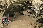Israel, Shephelah, the cave in Hurvat Midras