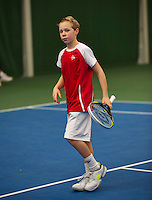 20131201,Netherlands, Almere,  National Tennis Center, Tennis, Winter Youth Circuit, Lodewijk Westrate<br /> Photo: Henk Koster