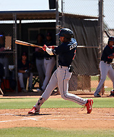Isaiah Greene - Cleveland Indians 2021 extended spring training (Bill Mitchell)