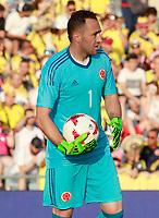 Colombia's David Ospina during international friendly match. June 13,2017.(ALTERPHOTOS/Acero) (NortePhoto.com) (NortePhoto.com)