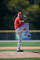 Boston Red Sox pitcher Josh D. Smith (51) during a minor league Spring Training game against the Baltimore Orioles on March 16, 2017 at the Buck O'Neil Baseball Complex in Sarasota, Florida. (Mike Janes/Four Seam Images)