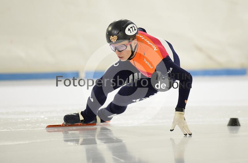 SCHAATSEN: HEERENVEEN, IJsstadion Thialf, 07-10-2020, Topsporttraining, Bram Steenaart, ©foto Martin de Jong