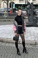Charlotte LE BON - Show Miu Miu - Paris Fashion Week Womenswear Fall/Winter 2017/2018 - France