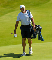 140719 | The 148th Open - Sunday Practice<br /> <br /> Jason Day's caddie Steve Williams on the 12th green  during practice for the 148th Open Championship at Royal Portrush Golf Club, County Antrim, Northern Ireland. Photo by John Dickson - DICKSONDIGITAL