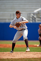 Lehigh Mountain Hawks relief pitcher Connor Donovan (25) delivers a pitch during a game against the Dartmouth Big Green on March 20, 2016 at Chain of Lakes Stadium in Winter Haven, Florida.  Dartmouth defeated Lehigh 5-4.  (Mike Janes/Four Seam Images)