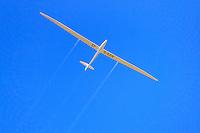 Segelflugzeug Nimbus 4: DEUTSCHLAND 24.08.2013: Segelflugzeug vom Typ  Nimbus 4,  Foerderflugzeug fuer junge Segelflieger des Deutschen Aeroclub gesponsort von Lady Enid Paget