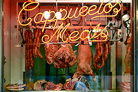 Butcher shop, Italian Market, South Philadelphia, Pennsylvania, USA
