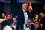 © Joel Goodman - 07973 332324 . 03/03/2016 . Manchester , UK . Winner Barristers' Chambers of the Year MARK GEORGE QC of Garden Court North (centre) . The Manchester Legal Awards from the Midland Hotel . Photo credit : Joel Goodman