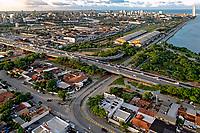 Aerea da cidade de Recife. Pernambuco. 2011. Foto de Sergio Amaral.
