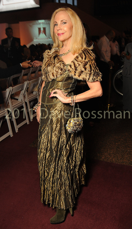 Carolyn Farb at the first day of the Fashion Houston 2010 presented by Audi at the Wortham Theater Monday Oct. 11, 2010. (Dave Rossman/For the Chronicle)