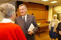 Le maire Pierre Bourque<br /> ,24 aout 2001<br /> <br /> <br /> PHOTO D'ARCHIVE: Agence Quebec Presse