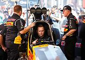 Richie Crampton, DHL, top fuel, pits, crew