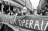 "- demonstration of extreme left radical group ""Workers Autonomy"" (Milan, 1977)<br /> <br /> - manifestazione del gruppo di estrema sinistra ""Autonomia Operaia""  (Milano, 1977)"