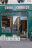 Europe,France,Ile-de-France,75009, Paris: Chéri Charlot (sandwiches, casse croutes) : 33, rue Richer,