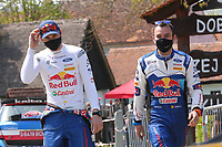 25th April 2021; Zagreb, Croatia; WRC Rally of Croatia, Final stages; Adrien Fourmaux - Ford Fiesta WRC