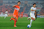 Shandong Luneng (CHN) vs (JPN) Sanfrecce Hiroshima during the AFC Champions League 2016 Group Stage F, at Jinan Olympic Sports Center on 20 April 2016 in Jinan, China. Photo by Marcio Machado/Power Sport Images.