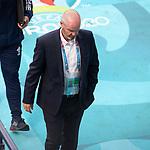 14.06.2021 Scotland v Czech Republic:  Steve Clarke at FT