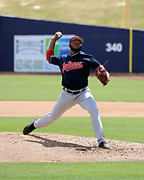 Luis Sanchez - Cleveland Indians 2019 extended spring training (Bill Mitchell)