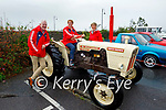 Attending the Blennerville Car and Tractor Run fundraiser for Kerry Hospice on Sunday, l to r: Fionnbar and Elma Walsh and Maura Sullivan.