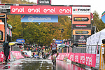 Ruben Guerreiro (POR) EF Pro Cycling wins solo Stage 9 of the 103rd edition of the Giro d'Italia 2020 running 208km from San Salvo to Roccaraso (Aremogna), Sicily, Italy. 11th October 2020.  <br /> Picture: LaPresse/Massimo Paolone   Cyclefile<br /> <br /> All photos usage must carry mandatory copyright credit (© Cyclefile   LaPresse/Massimo Paolone)