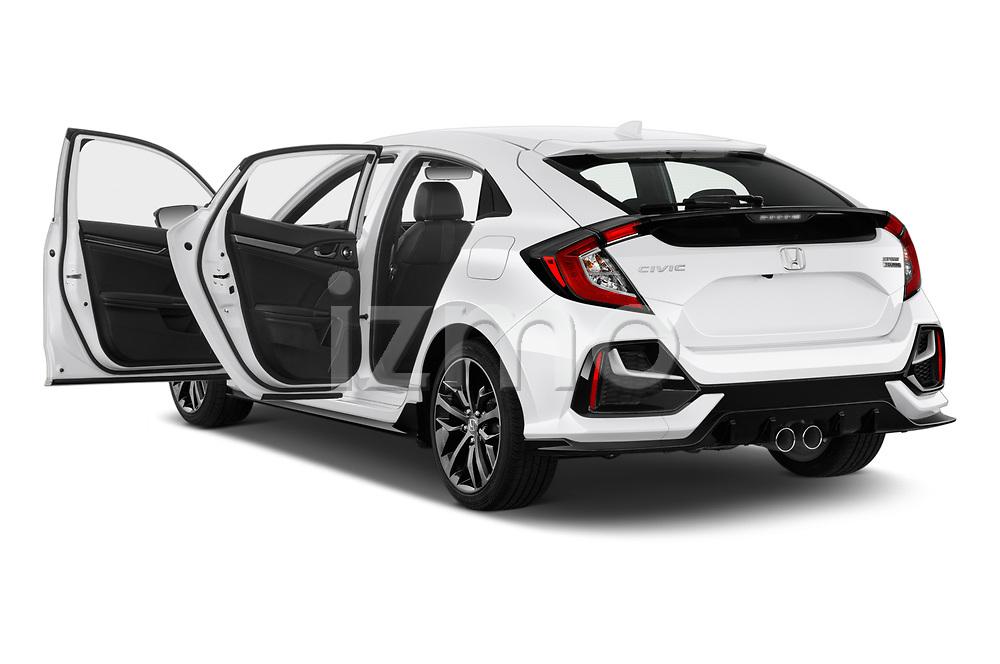 Car images of 2020 Honda Civic-Hatchback Sport-Touring 5 Door Hatchback Doors