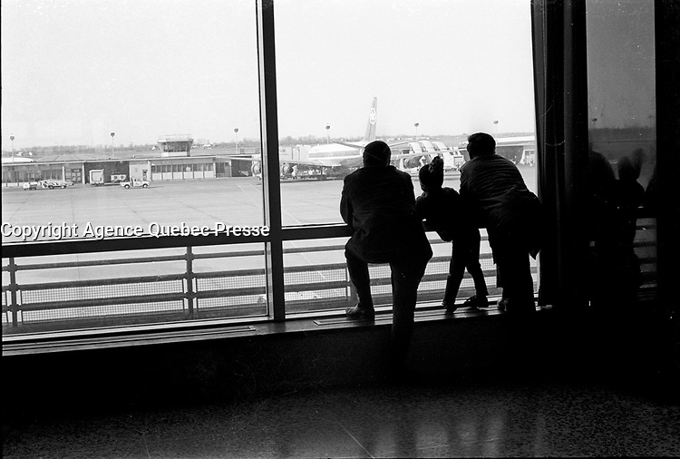 Undated file photo from the 1970's -  Montreal. Quebec , Canada  - Dorval Airport