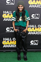 SANTA MONICA, CA, USA - FEBRUARY 15: China Anne McClain at the 4th Annual Cartoon Network Hall Of Game Awards held at Barker Hangar on February 15, 2014 in Santa Monica, California, United States. (Photo by David Acosta/Celebrity Monitor)