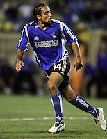 21 September 2005: Dwayne De Rosario of the Earthquakes in action against the Chicago Fire at Spartan Stadium in San Jose, California.   San Jose Earthquakes defeated Chicago Fire, 2-0.