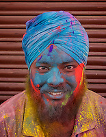 Holi the festival of Color in Pushkar one of India's most holiest cities