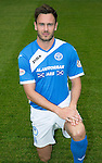 St Johnstone FC photocall Season 2016-17<br />Keith Watson<br />Picture by Graeme Hart.<br />Copyright Perthshire Picture Agency<br />Tel: 01738 623350  Mobile: 07990 594431
