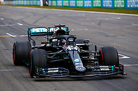 44 HAMILTON Lewis (gbr), Mercedes AMG F1 GP W11 Hybrid EQ Power+, won his 91th F1 Grand Prix during the Formula 1 Aramco Grosser Preis Der Eifel 2020, Eifel Grand Prix, from October 9 to 11, 2020 on the Nürburgring, in Nürburg, Germany <br /> Nurburg Nurburging 11-10-2020 Formula 1 GP Eifel Germania <br /> Foto Dppi/Panoramic/Insidefoto <br /> ITALY ONLY